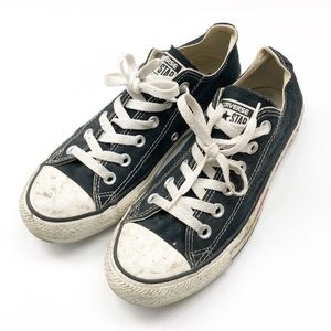 Converse All Star black shoes